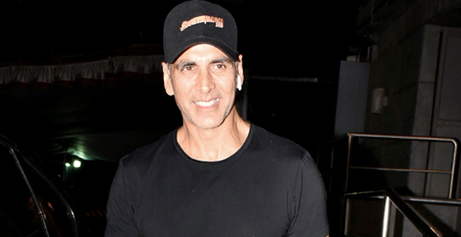 I always prefer not to party as I'm afraid of paying the entire bill eventually, says Akshay Kumar