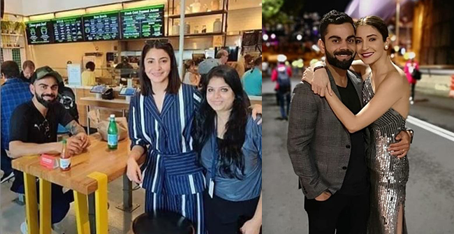 Virat Kohli and Anushka Sharma pictured in Miami with friends ahead of WI series