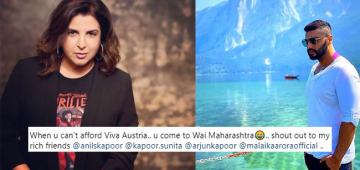 Arjun-Malaika, Anil-Sunita in Austria; Farah Khan jokes she cannot afford so enjoying in Wai