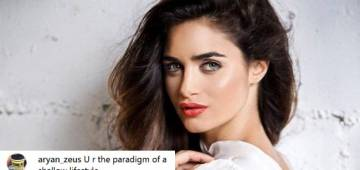 Arjun Rampal's ladylove Gabriella Demetriades responds to a web user calling her 'shallow'