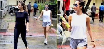 Malaika Arora looks uber chic in latest gym wear