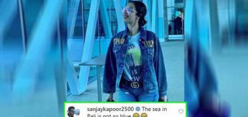 Watch out Sanjay Kapoor's hilarious comment on Malaika Arora's latest picture on Insta
