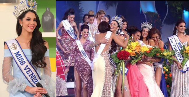 Miss Venezuela Pageant decides not to show contestant's vital stats in response to critics