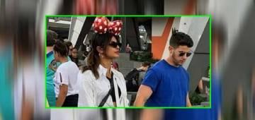 Priyanka Chopra spotted with a Minnie Mouse at Disneyland with her husband Nick Jonas