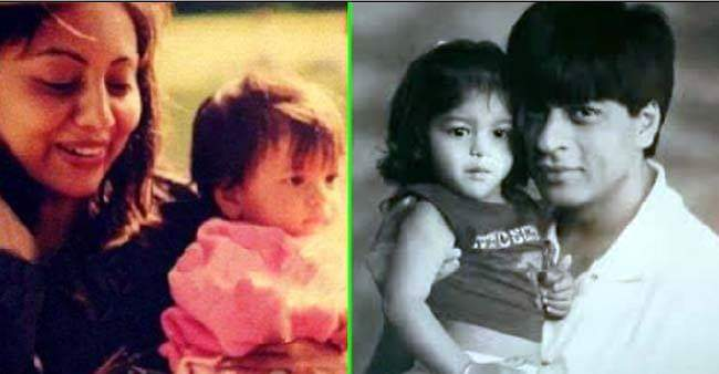 Suhana Khan's adorable childhood pictures will surely make your day