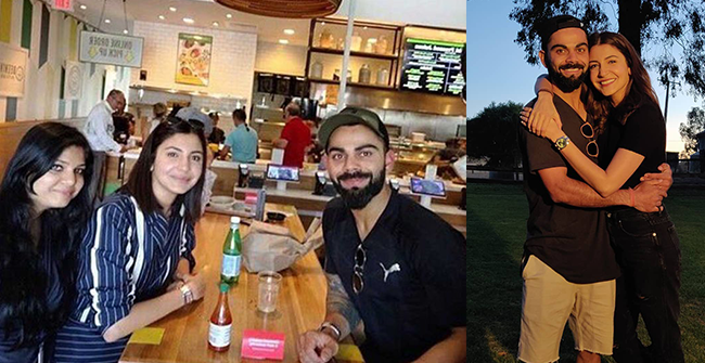 Virat Kohli and Anushka Sharma enjoy in Florida, ahead of West Indies tour