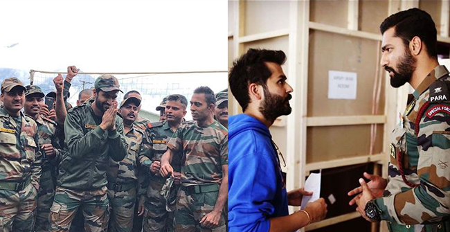 Vicky Kaushal elated to spend time with Indian Army; shares a picture