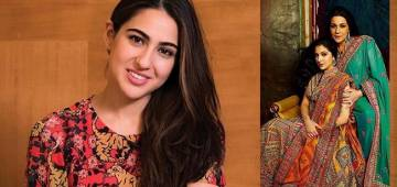 Throwback Pic: Sara Ali Khan and mom Amrita Singh twin in ethnic ensembles