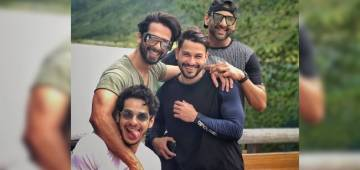 Shahid Kapoor brother Ishaan Khatter share pictures from their European road trip