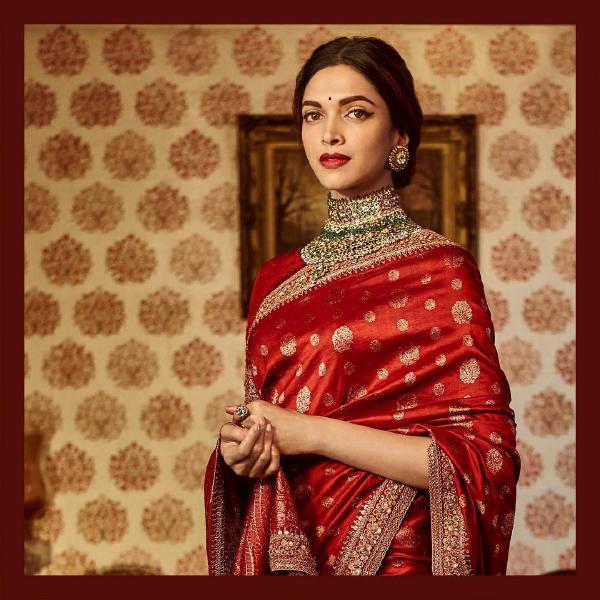 Deepika Padukone silk saree looks that made her look royal ...