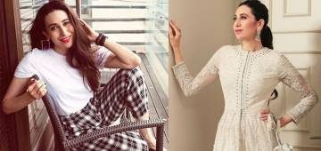 Check out the pictures of Karisma Kapoor rocking in white