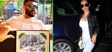 Arjun Kapoor missing ladylove Malaika; sends postcard from Austria