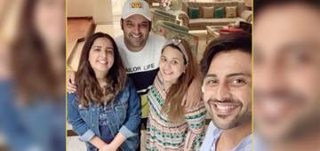 Pregnant Ginni Chatrath looks like a glowing angel as she poses with hubby Kapil Sharma