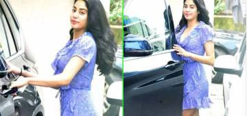 Janhvi Kapoor steps out of gym in style; gets snapped by paparazzi