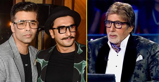 KJo and Ranveer Singh indeed knew the answer to the Rs 1 Crore question asked on KBC