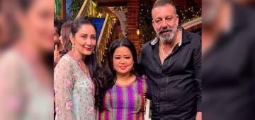 Sanjay and Manyata all set to grace The Kapil Sharma Show; enjoy pics