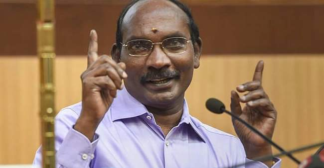 """""""Indian First, Then Tamil"""" says ISRO chief K Sivan, video goes viral"""