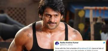 Prabhas geared up for new romantic drama; following a strict diet, rigorous workout routine