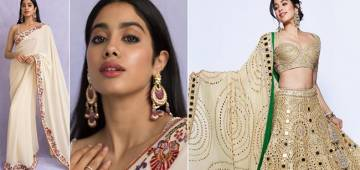 Janhvi Kapoor's Traditional Outfits That Are Perfect For This Festive Season
