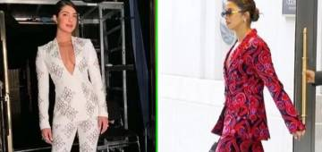 Pantsuit glares of Priyanka Chopra that will leave you in splits