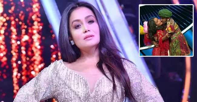 Indian Idol 11 Contestant Abruptly Snogs Neha Kakkar On Stage Startling Everyone Laughing Colours