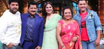 The Kapil Sharma Show: Udit Narayan has maximum female fan following in comparison to Aditya