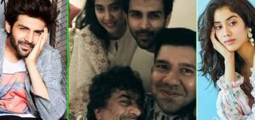 Kartik Aaryan, Janhvi Kapoor's 'just chilling' moments with Dostana 2 team are super cool; Check Out