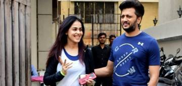 Riteish Deshmukh & Genelia Flaunt Their Power Couple Mode While Heading Towards The Gym Together