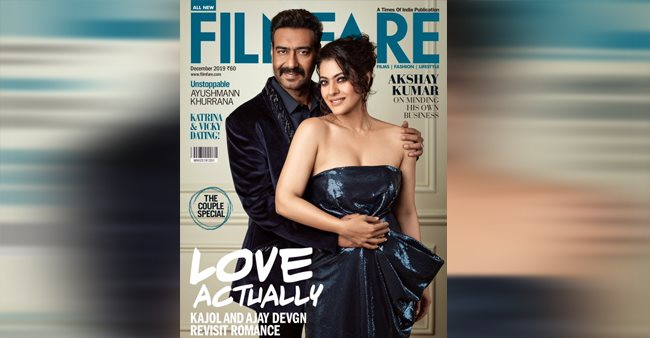 Ajay Devgn And Kajol Flaunt Their Impeccable Chemistry On A Magazine Cover