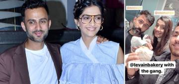 LA Fun: Sonam & Hubby Anand Have Gala Time; Enjoy Cookie & Waffles With Besties
