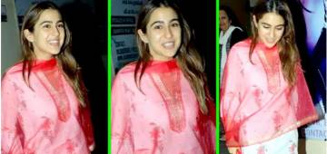 Sara Ali Khan's Fashion Choices Are Simple, Elegant And Super Comfortable; Have A Look