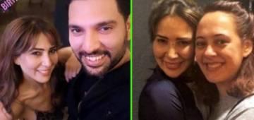 Happy Birthday Doofus: Yuvraj Singh's EX Kim Sharma wishes him with a throwback selfie; Pic