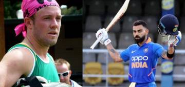 Ind Vs WI: Twitterati hails Kohli's game; AB de Villiers validates it by commenting 'Brothers'