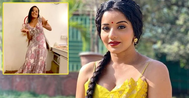 Nazar Fame Monalisa Gets Her Dance Mode On As She Dances To Hrithik's Ghungroo Song; Video