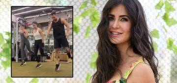 Katrina Kaif's fitness enthusiasm wins her praises again; viral workout video gets admired by Shraddha Kapoor