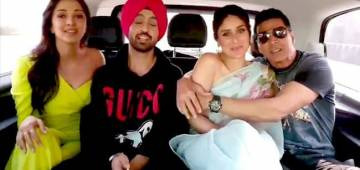 Carpool karaoke of Akshay Kumar and his Good Newwz starcast is the funniest thing you will see on the internet