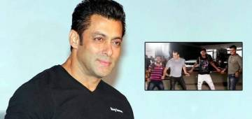 Salman Khan Dances To Munna Badnaam Hua, With Paparazzi