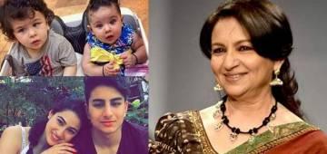 Kareena Asked Sharmila Tagore to choose her favorite Grand Child Among Taimur, Inaya, Ibrahim, and Sara on her Show