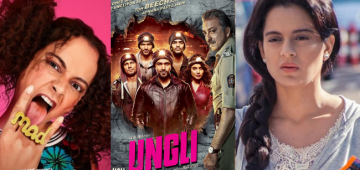 Kangana's movie titles describe her real character