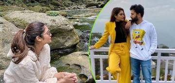 Nusrat Jahan Shares Adorable Pics From Her Meghalaya Vacation With Her Hubby