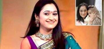 Disha Vakani Aka Dayaben Of TMKOC Spotted With Her Cute Angel At A Family Function