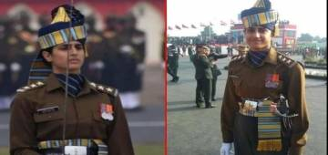 India salutes first woman Parade Adjutant Tania Shergill as she leads all-men Contingent; Video