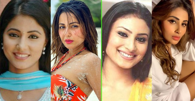 Hina Khan, Mouni Roy and other silver screen celebs' transformation over the years; Pics