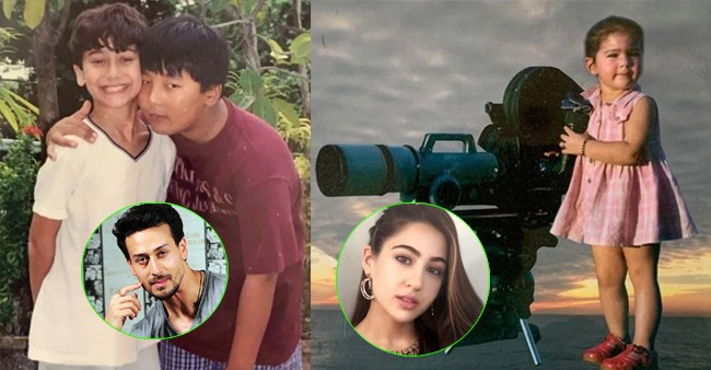 Adorable childhood pics of popular Bollywood celebrities that are too cute to be missed