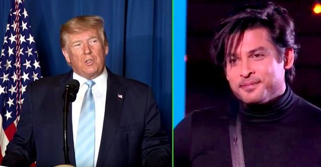 KRK asks Donald Trump about BB winner Sidharth Shukla; Netizens call it 'hilarious'