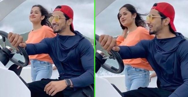 TikTok Stars Jannat Zubair & Faisal Shaikh Fun Time In Mauritius; Their Video Is Unmissable