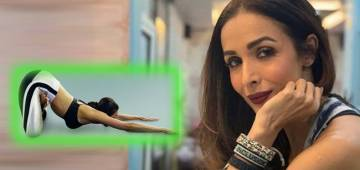 Fitness Star Malaika Arora Nails A Gravity Defying Yoga Asana & Urges Fans To Try It