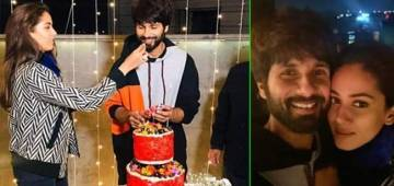 Shahid Kapoor doesn't shy away from PDA on wife's picture on his birthday