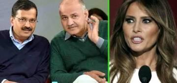 Melania Trump to visit a school in Delhi, Arvind Kejriwal and Manish Sisodia not invited
