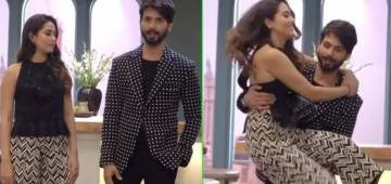 Throwback Video Of Shahid Kapoor Lifting His Wife Mira Rajput In His Arms Is Melting Our Hearts